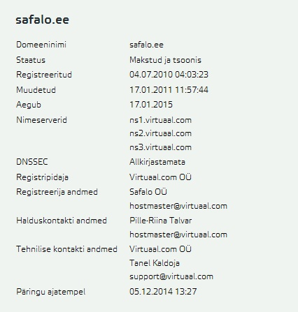 safalo.ee