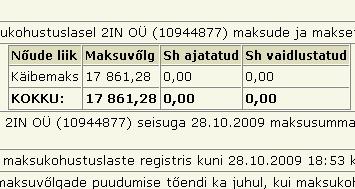 942 insert 2in ou reg number 10944877 tax liability unpaid tasumata maksud