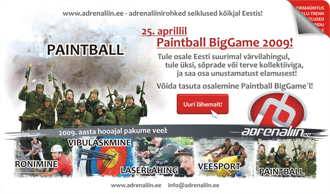 898 paintball adrenaliin.ee späm