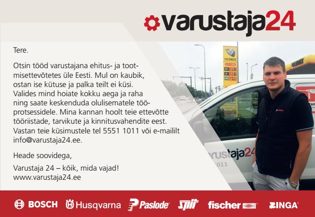 6fae24abb71 Varustaja24 First Step OÜ Elvis Lillevälja palka ei küsi | Spami ...