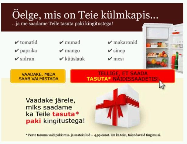 IMP Baltic uus pakkumine lihtsameelsete kleintide püüdmiseks.