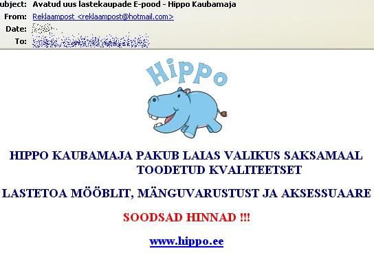 hippo.ee ristustas postkasti