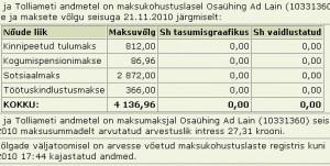 adline.ee tasumata maksud