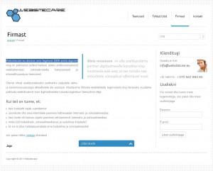 websitecare.eu valetab enda asutamise kohta
