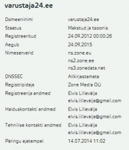 varustaja24.ee omanik